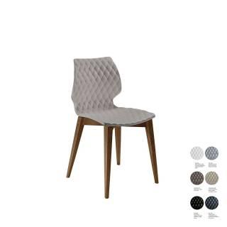 Chaise de cuisine UNI 562 / Tourterelle – Bois / Et al.
