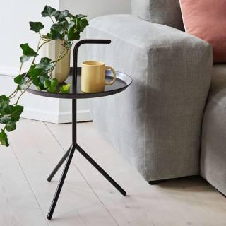 Table de salon DLM  / Ø 38 cm / Bleu