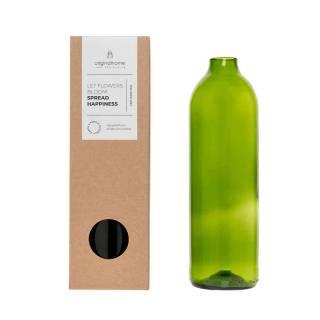 Carafe CLEAR bouteille Vert / Verre recyclé / Original Home
