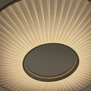 Suspension IRIS LED XXL / Blanc / Dix heures Dix