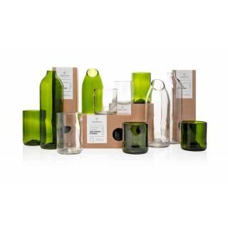 Carafe CLEAR bouteille transparent / Verre recyclé / Original Home