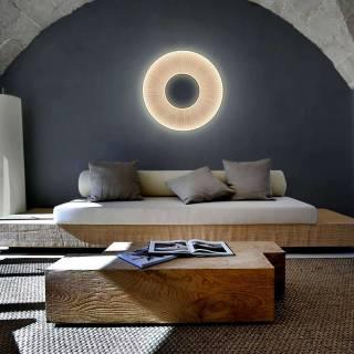Applique IRIS LED - Chambre / Blanc / Dix heures Dix