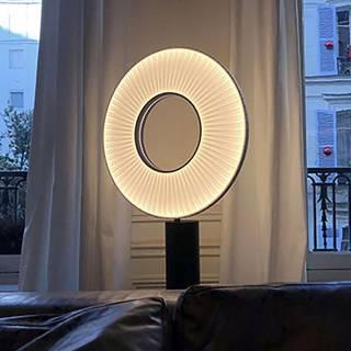 Lampe à poser IRIS LED 50 cm / Blanc / Dix heures Dix