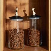 Pot à croquette chien LULÀJAR - 150 cl / Verre / Alessi