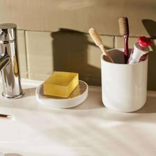 Porte-savon BIRILLO - Salle de bain / Blanc / Alessi