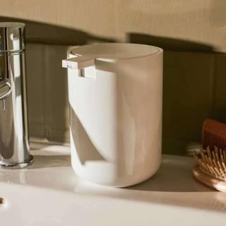 Distributeur de savon liquide BIRILLO / Blanc / Alessi