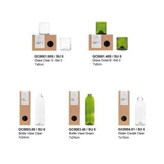 Verre recyclé CLEAR ORIGINAL HOME