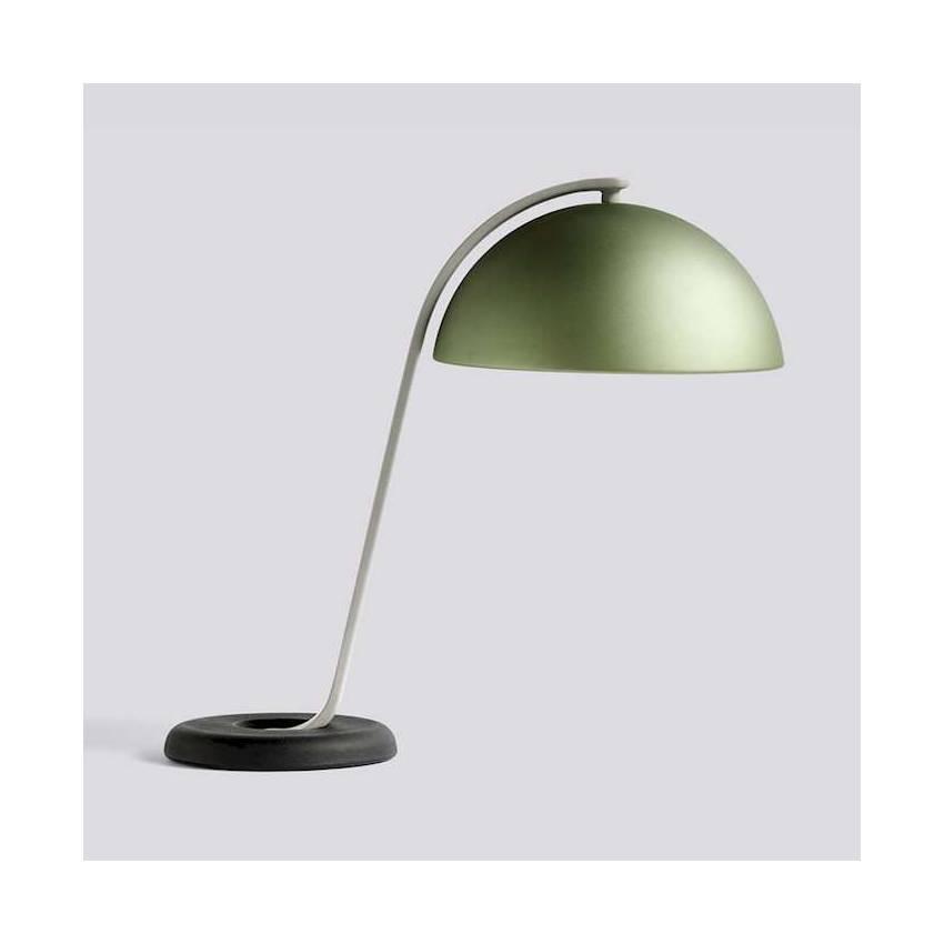 Lampe de table CLOCHE / H. 43 cm / Laiton Brossé