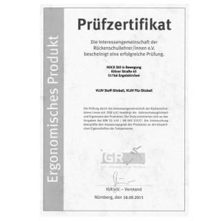 Assise pour enfant BALLON VLUV / Tissu Leiv Dark Petrol / Ø55