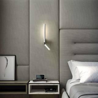 Applique liseuse CANUT - LED intégrée / Blanc / Estiluz