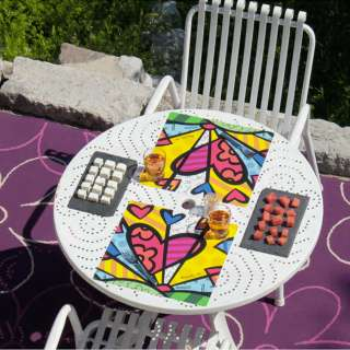 Set de table A LOT OF HEART / 34 x 32 cm / Multicoloris