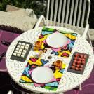 Set de table A LOT OF HEART / 34 x 32 cm / Multicoloris