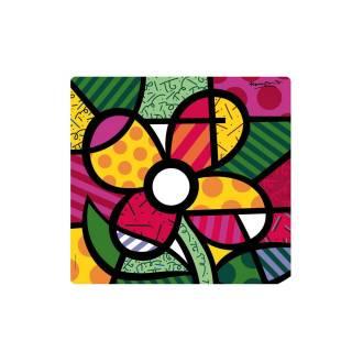 Set de table BIG FLOWER / Multicoloris / 34 x 32 cm