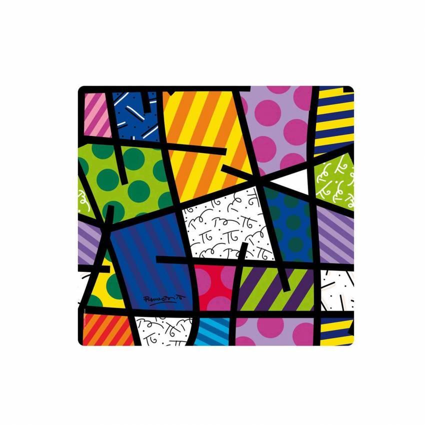 Set de table BRITTO TEXTURE / 34 x 32 cm / Multicoloris