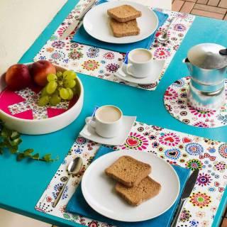 Set de table COLOR DREAM / 34 x 32 cm / Multicoloris