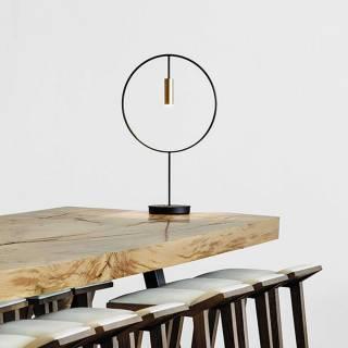 Lampe design REVOLTA / Métal Noir / Estiluz