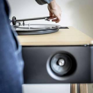Enceinte LX PLATINE -Musique / Chêne / La Boite Concept