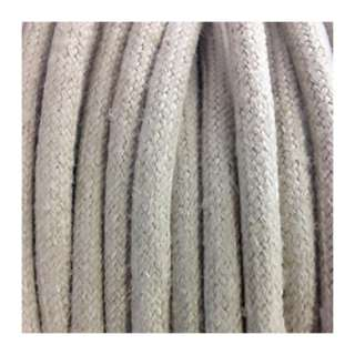 Kit fils électrique tissu noir 2x0,75 mm2 + Douille E27 + Dôme