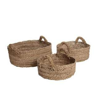 Panier SEAGRASS TRAY - 3 tailles / Herbe Marine
