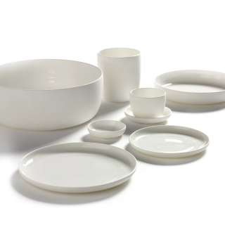 Assiette à dessert BASE / Porcelaine Blanche / Serax