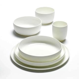 Assiette haute BASE, 28 cm / Porcelaine Émaillée / Serax