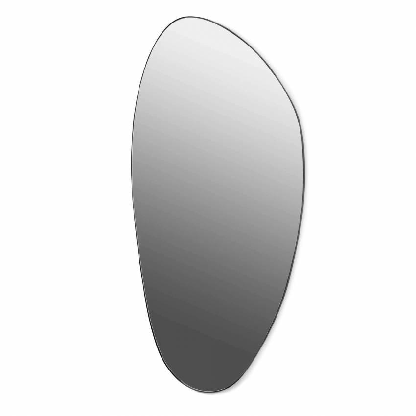 Miroir déco XL - 1,51 m / Acier Noir / Serax