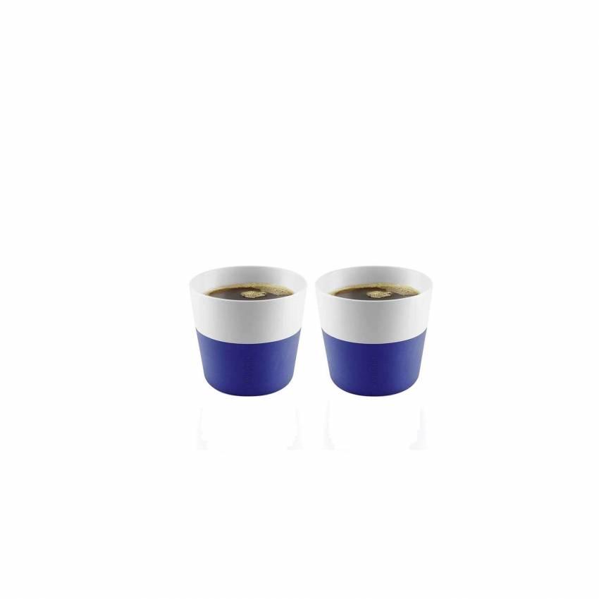 Lot de 2 tasses Lungo en bleu électrique - Eva Solo