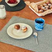 Set de table PLACE MAT x 2 / L. 45 cm / Laine Grise