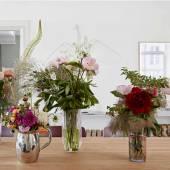 Vase MOROCCAN / Verre Recyclé / Orange & Rose / Hay