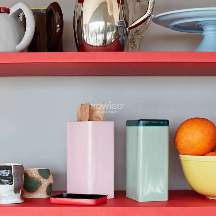 Boite TIN by SOWDEN - Cuisine / Fer Blanc / Rose / Hay