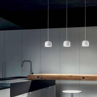 Suspension OUTLOOK P - LED / Aluminium Blanc / Verre