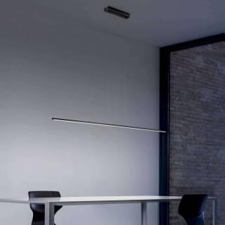 Suspension STRAIGHT / L 1,02 - 1,52 m / Aluminium Noir
