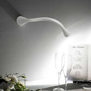 Applique design SNAKE W1 - LED / Aluminium Blanc
