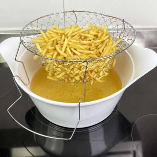 Panier friture pour cocotte / 24 ou 28 cm / Cookut