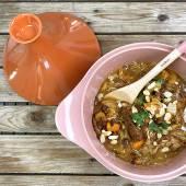 Couvercle Tajine / 24 cm / Céramique Orange / Cookut