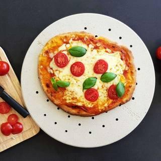 Pierre à pizza CRISPIZ / Ø. 38 cm / Cookut