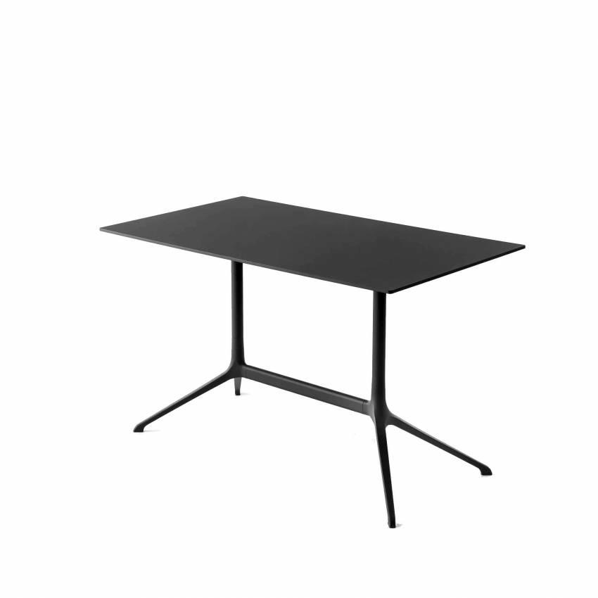 Table de bistrot ELEPHANT / Aluminium Noir / Kristalia