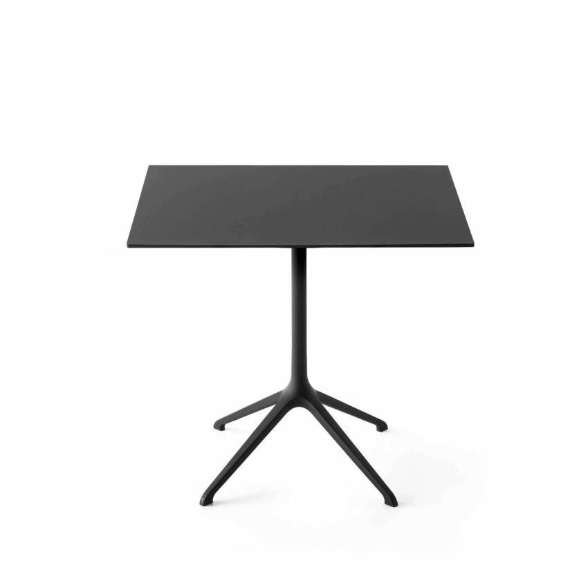 Table haute carrée ELEPHANT / Aluminium / Kristalia