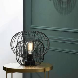 Lampe à poser KOKESHI - Industriel / Noir / Market Set