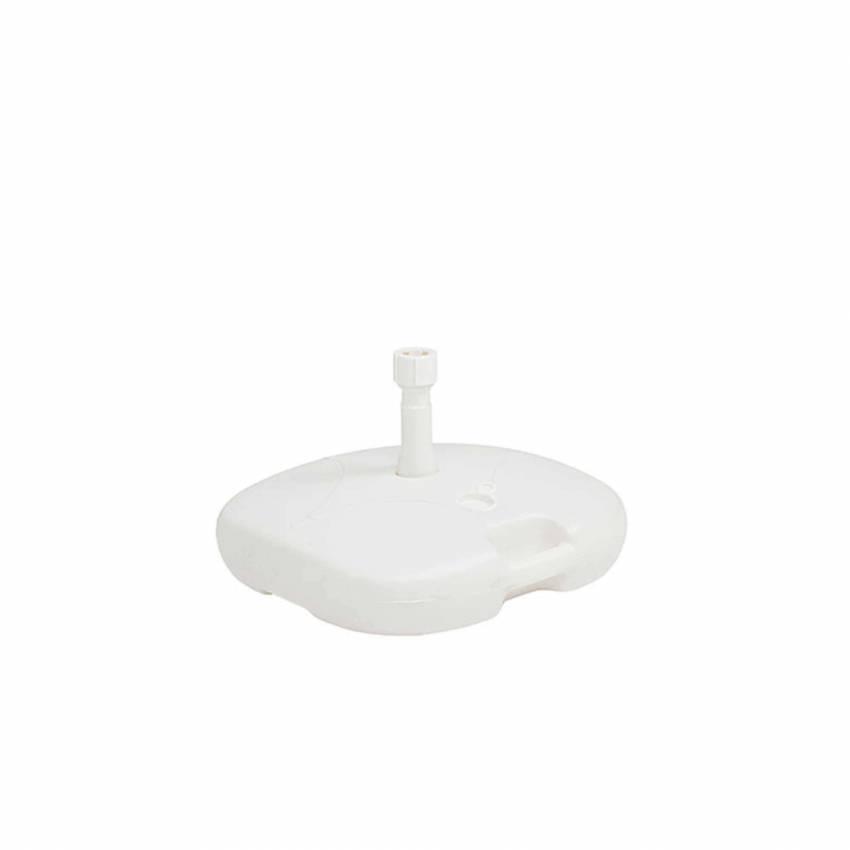 Pied de parasol PLAST / 50 x 50 cm / Blanc