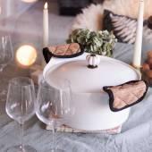 Cocotte L'INCROYABLE COCOTTE / 7 L / Blanc