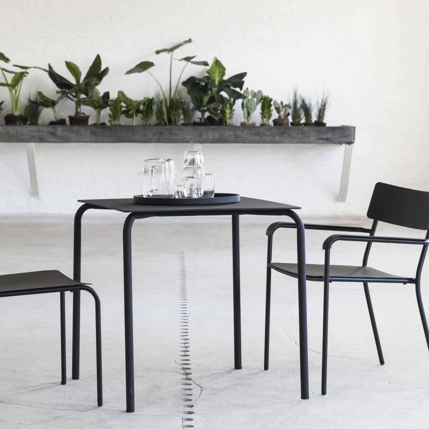 Table à manger AUGUST / Aluminium – 4 coloris / Serax