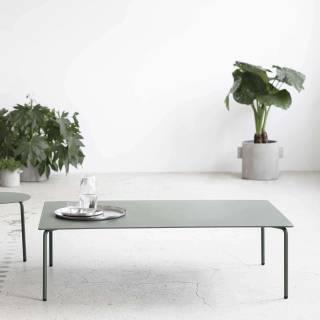 Table basse AUGUST – Int/Ext / Aluminium / Serax