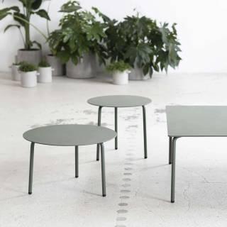 Table d'appoint AUGUST - Ø. 50 cm / Aluminium / Serax