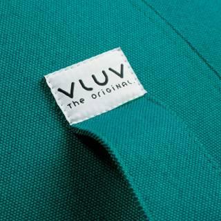 Pouf BALLON - Bureau / Tissu Leiv Bleu / Vluv