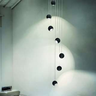 Suspension SPIDER salle à manger / Noir / Lodes – Studio Italia