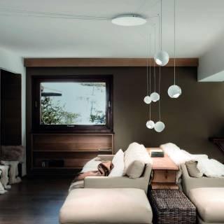 Suspension SPIDER LED / Blanc / Lodes – Studio Italia