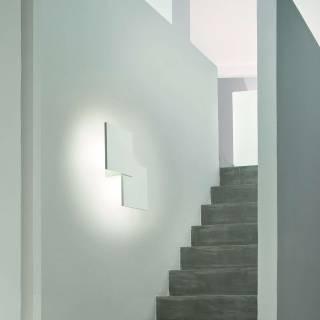 Applique murale PUZZLE double carré / Blanc / Lodes – Studio Italia