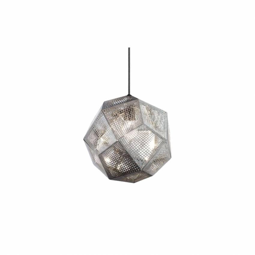 Suspension luminaire ETCH / Métal - Inox / Tom Dixon
