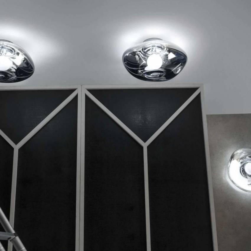Applique design MELT - 2 tailles / Fumé / Tom Dixon